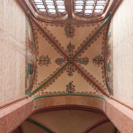 Referenzbild Nikolai Kirche Wismar Deckenmalerei