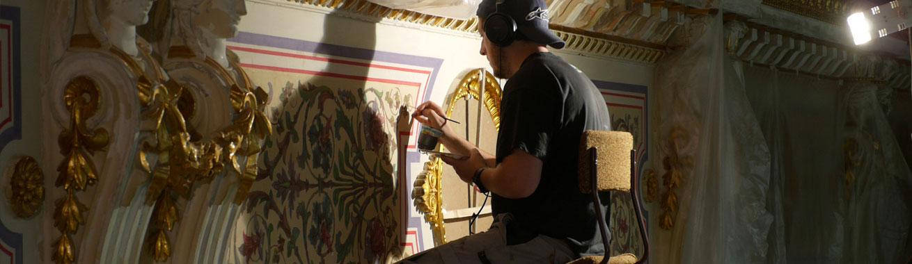 Tiltelbild Leistungen Atelier für Restaurierung Wisamar